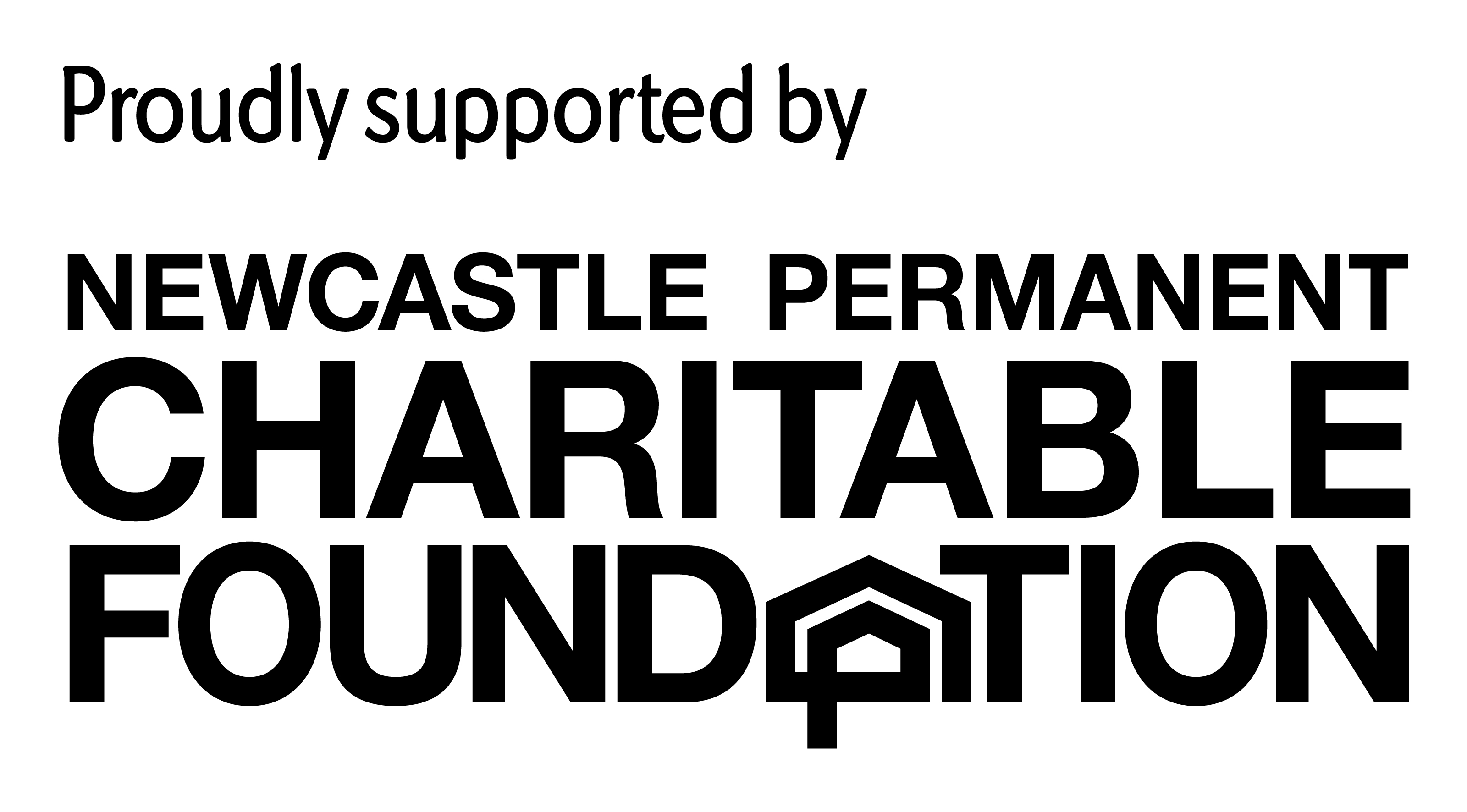 Newcastle Permanent Charitable Foundation sponsorship logo